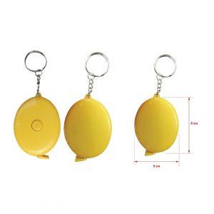 ตลับเมตรพวงกุญแจ สายวัดพวงกุญแจ พรีเมี่ยม สกรีนโลโก้ สายวัดตัว สายวัดความยาว ตลับเมตร