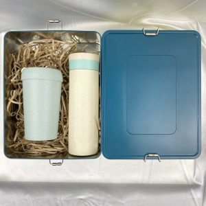 แก้วกระบอกน้ำ รักษ์โลก ECO GiftSet ปีใหม่