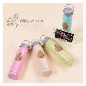 แก้ววางโทรศัพท์ Fragrant Wheat Cup Zero Waste ECO รักษ์โลก ทำจากฟางข้าวสาลี