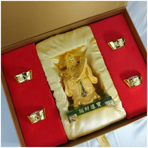 ฮกลกซิ่ว เนื้อเซรามิก พร้อมกล่อง GiftSet ปีใหม่