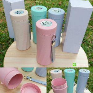 กระบอกน้ำ สีพาสเทล Water Bottle