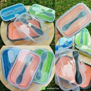 กล่องข้าว Silicone Food Grade