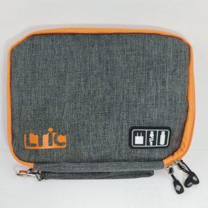 กระเป๋าสายชาร์จ กระเป๋าเก็บอุปกรณ์ สกรีนโลโก้ Mobile Charger Bag กระเป๋าอเนกประสงค์ ใส่อุปกรณ์ไอที