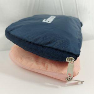 กระเป๋าผ้าร่ม พับได้ สามารถกางออกเป็นกระเป๋า 2 ทรงได้