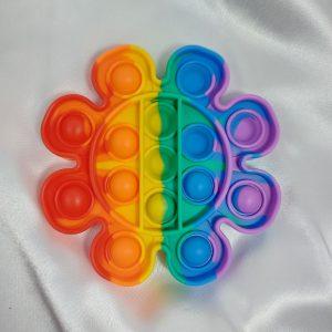 Finger Push Bubble Silicone Education Toy ของเล่นเด็ก พรีเมี่ยม สกรีนโลโก้