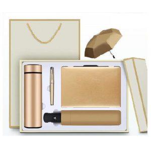 Souvenir VIP Gift Set ของขวัญ กระบอกน้ำ ร่ม ปากกา สมุดบันทึก